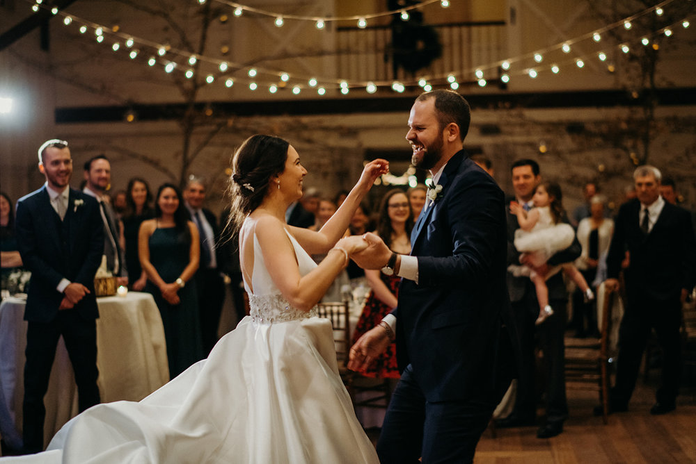 first dance at pippin hill in charlottesville virginia wedding